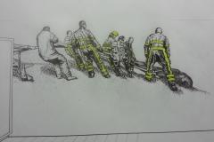 Brandweer Schets 2