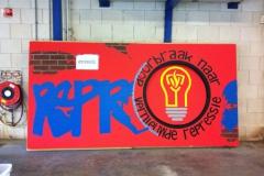 Graffiti 'Repressie'  2
