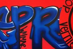 Graffiti 'Repressie'  3