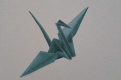 Origami Kraanvogel 3