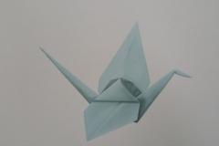Origami Kraanvogel 6